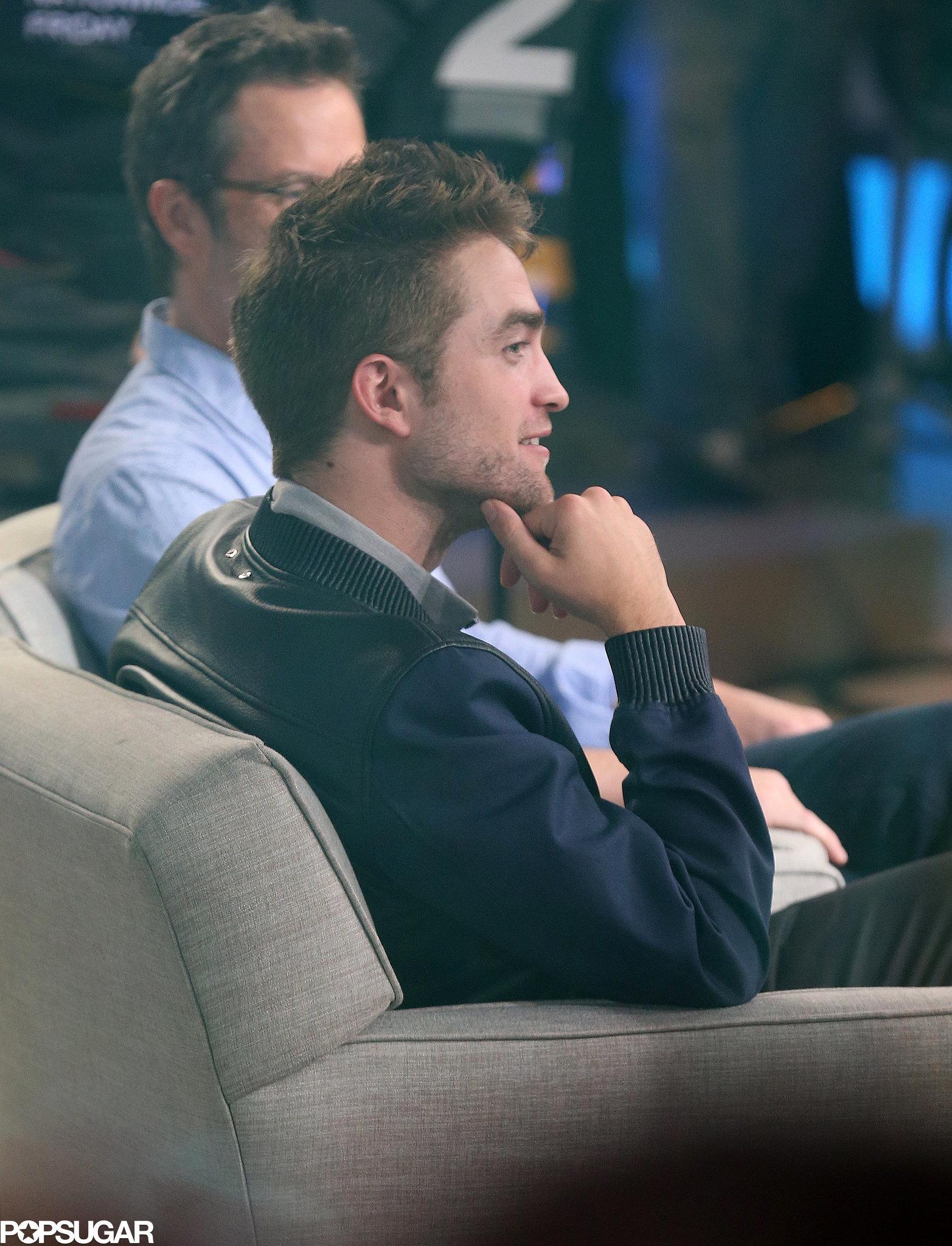 "Robert Pattinson Wants a ""Side Career as a Male Stripper"""