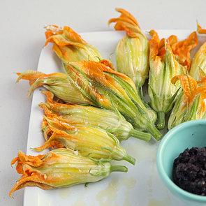 Burrata-Stuffed Squash Blossom Recipe