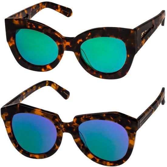 Karen Walker Superstars Collection With Mirrored Lenses