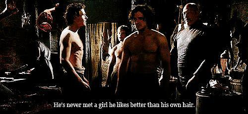 When He (AND JON SNOW) Are Shirtless