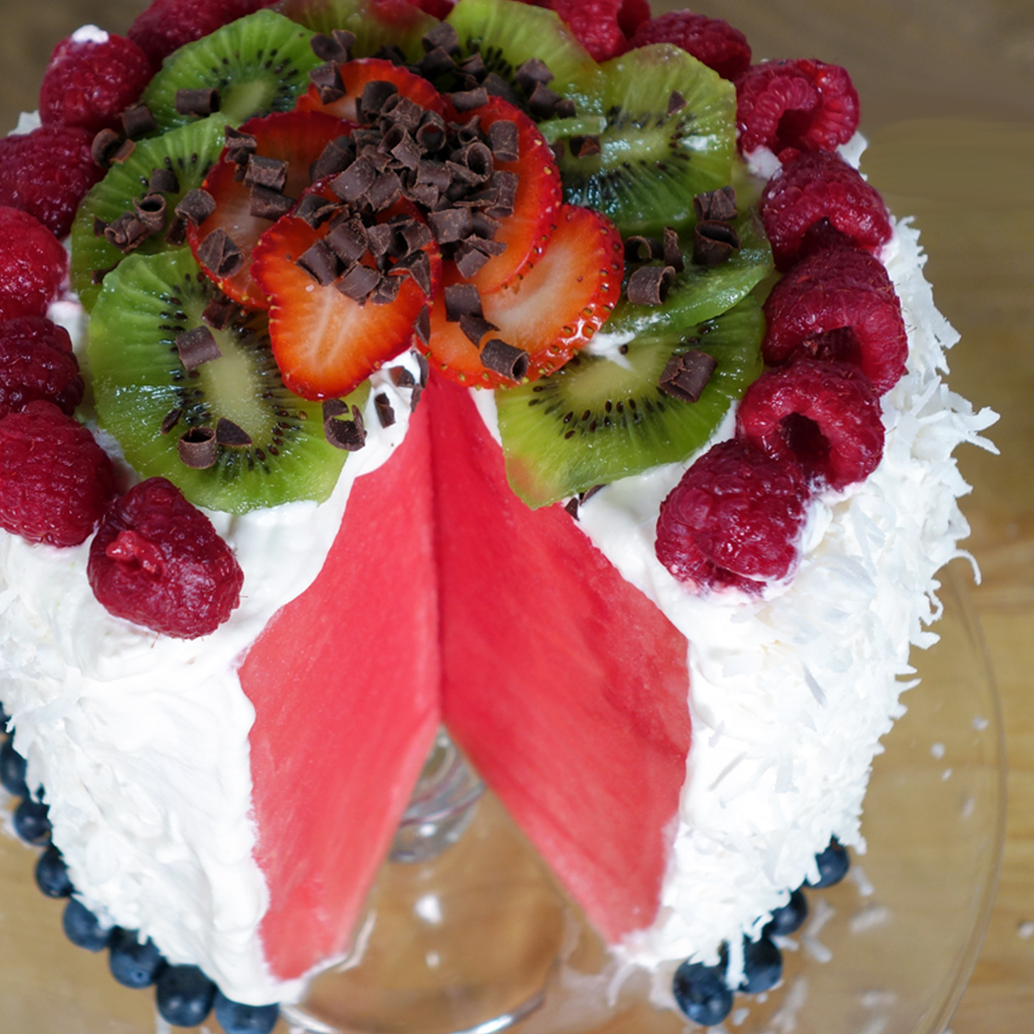 How to Make a Watermelon Cake | Video | POPSUGAR Food