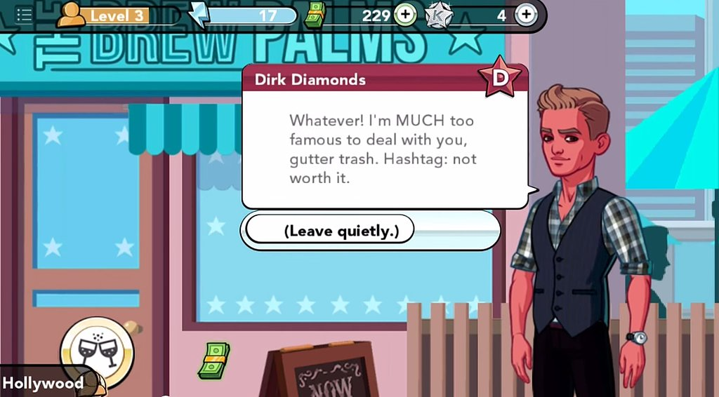 "Some Guy Named Dirk Diamonds Says ""Gutter Trash"" Like It's 2001"