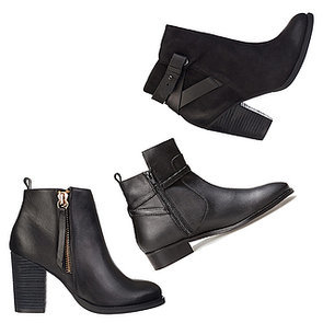 Black Leather Ankle Boots to Buy Online