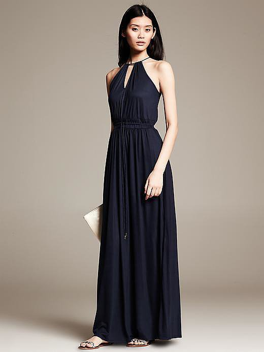 Banana Republic Knit Maxi Dress