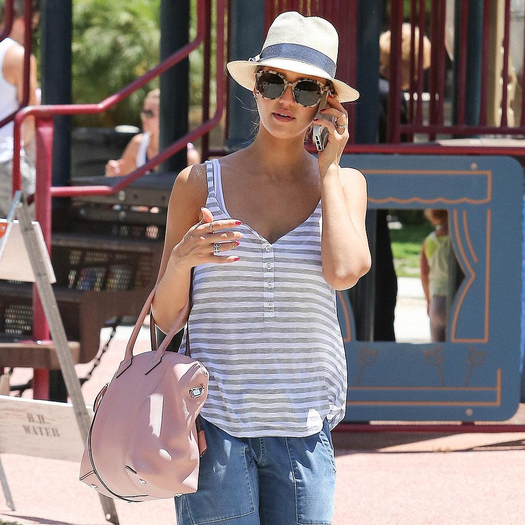 Jessica Alba Street Style 2014