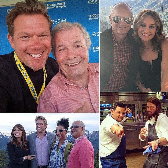 Celebrity Chefs Post All Their Aspen Shenanigans via Instagram
