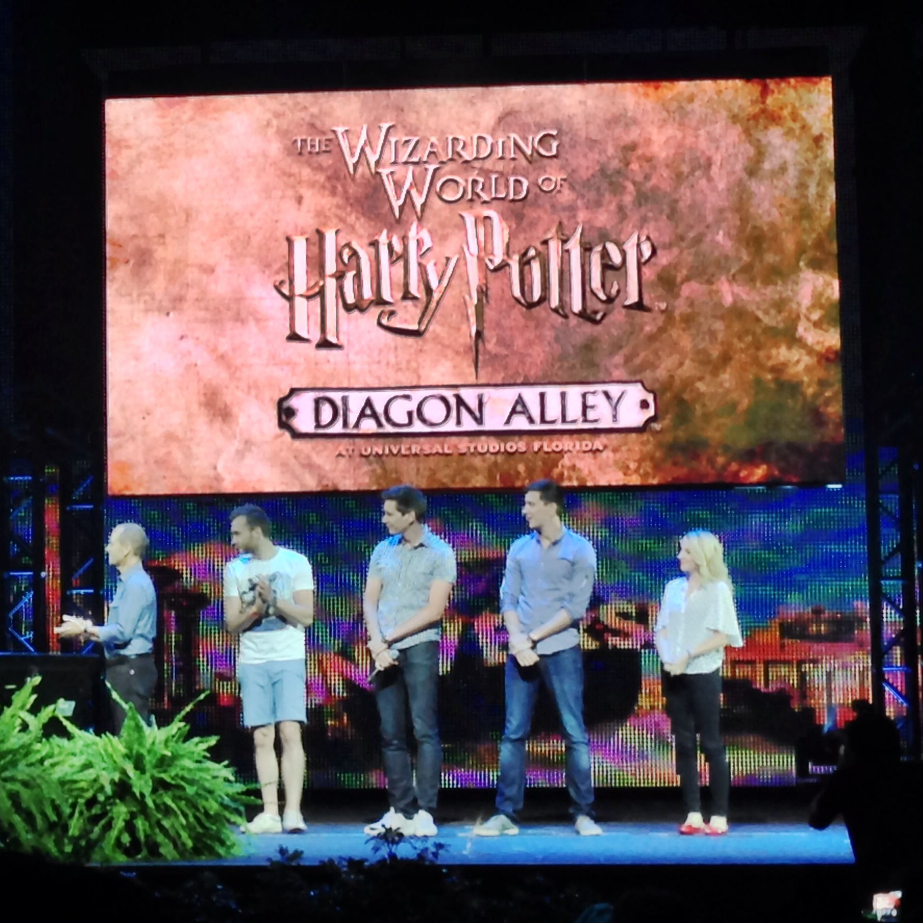 Evanna Lynch (Luna Lovegood), Matthew Lewis (Neville Longbottom), James Phelps (Fred Weasley), and Oliver Phelps (George Weasley) made a surprise announcement that t