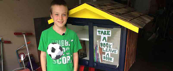 Town Shuts Down Boy's Free Library