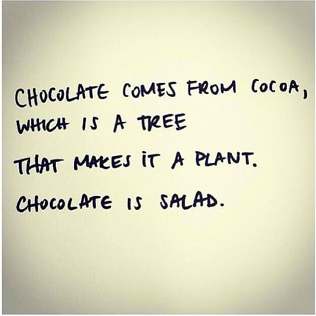 Healthy Chocolate Quotes. QuotesGram