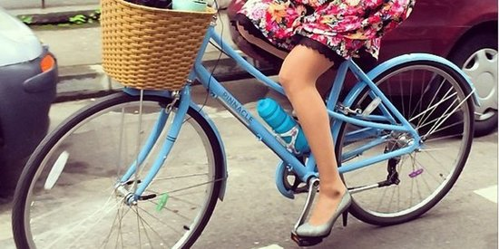 How To Look Like A Lady While Riding A Bike