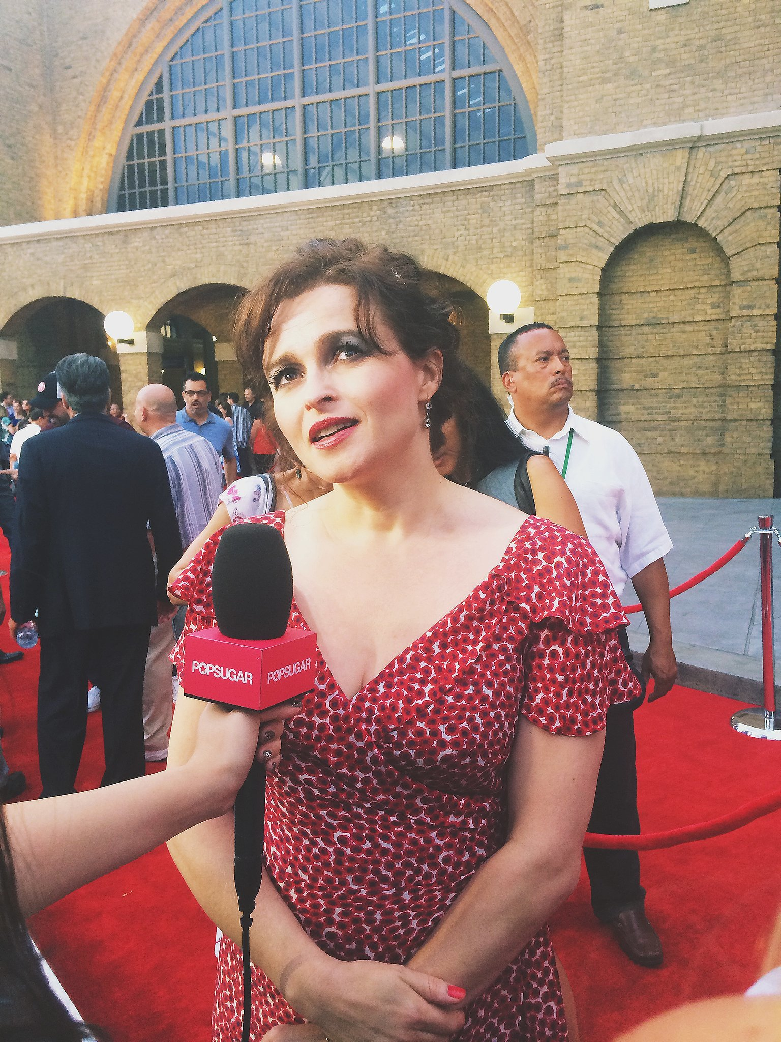 Helena Bonham Carter is a goddess, and she was radiant as always on the red carpet. She is much nicer (thankfully) than her evil onscreen counterpart Bellatrix Lestrange