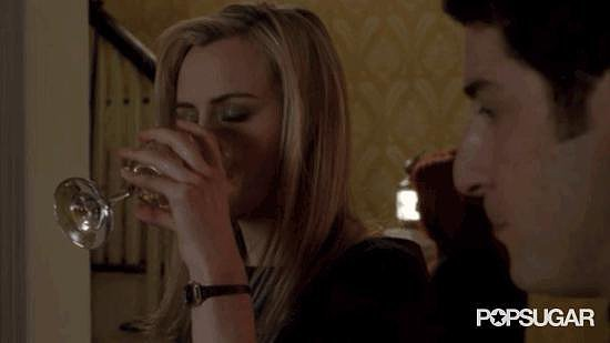 When Piper Eases the Pain With Wine