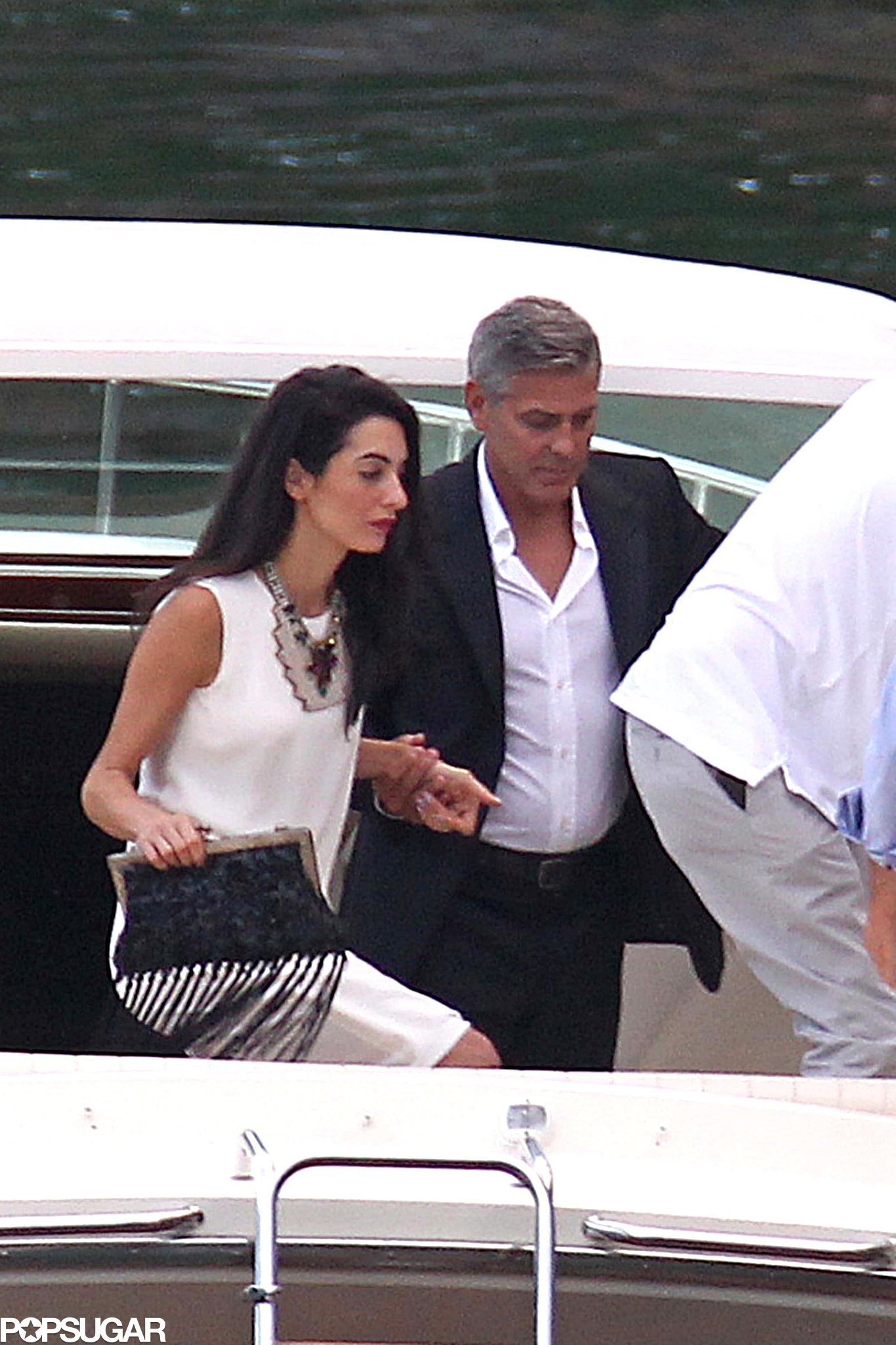 George and Amal Look Wedding Ready in Lake Como