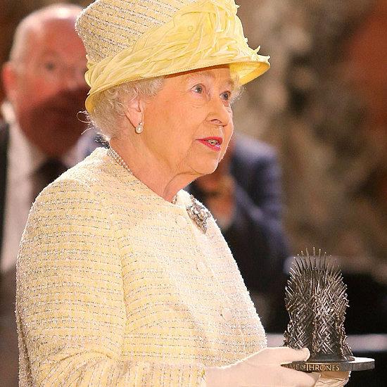 Queen Elizabeth Visiting the Game of Thrones Set in Belfast