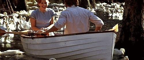 When Noah Rows Allie Through a Wonderland