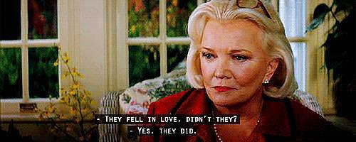 When Older Allie Listens to the Love Story and Doesn't Know It's Hers