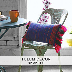 Tulum Decor by Cynthia Vincent