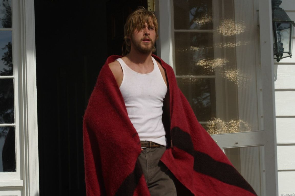 The Wearing-a-Blanket-and-Still-Looks-Hot Moment