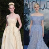 Elle Fanning Dresses Like a Disney Princess