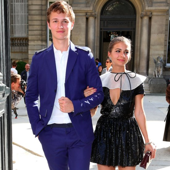 Pictures: Ansel Elgort With His Girlfriend Violetta Komyshan