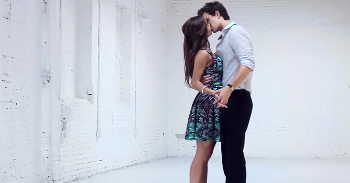 Ansel elgort dances with girlfriend violetta komyshan video popsugar