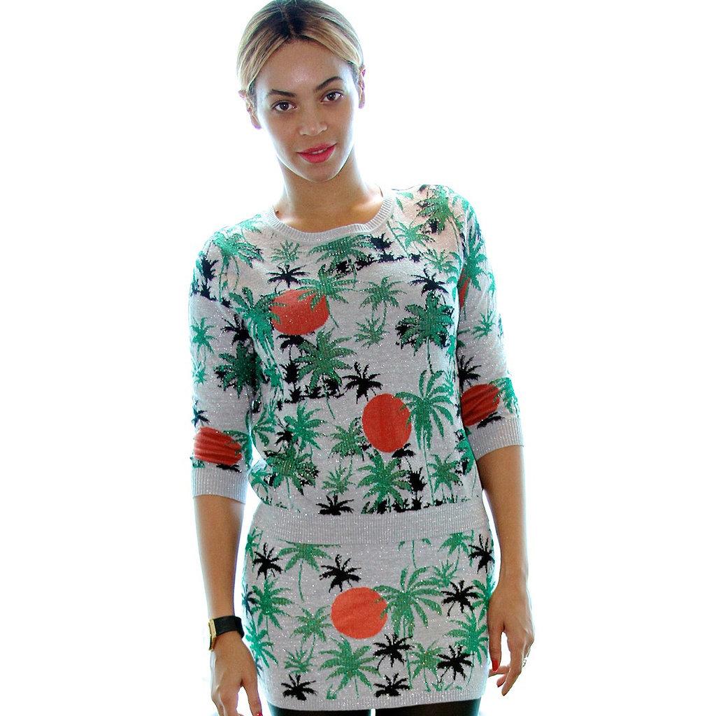 Celebrities Wearing Palm-Tree Prints 2014 | Video