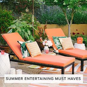 Summer Entertaining Decor | Shopping
