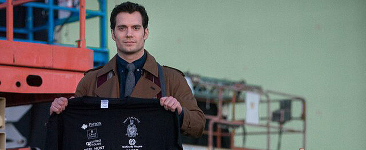 Henry Cavill Is Back as Superman, and He's Still Supersexy