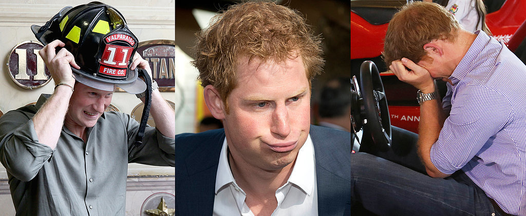 14 Hilarious Pictures From Prince Harry's South America Trip
