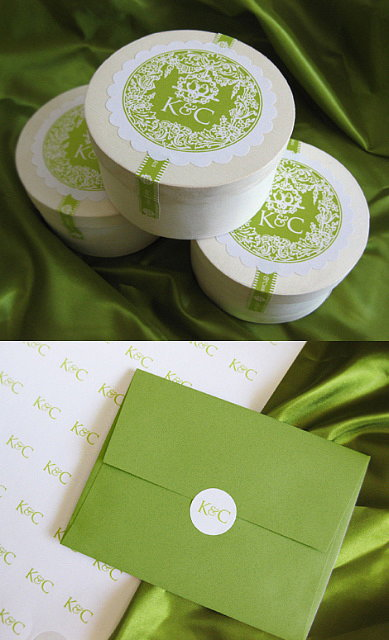 Vintage Round Labels by Cathe Holden