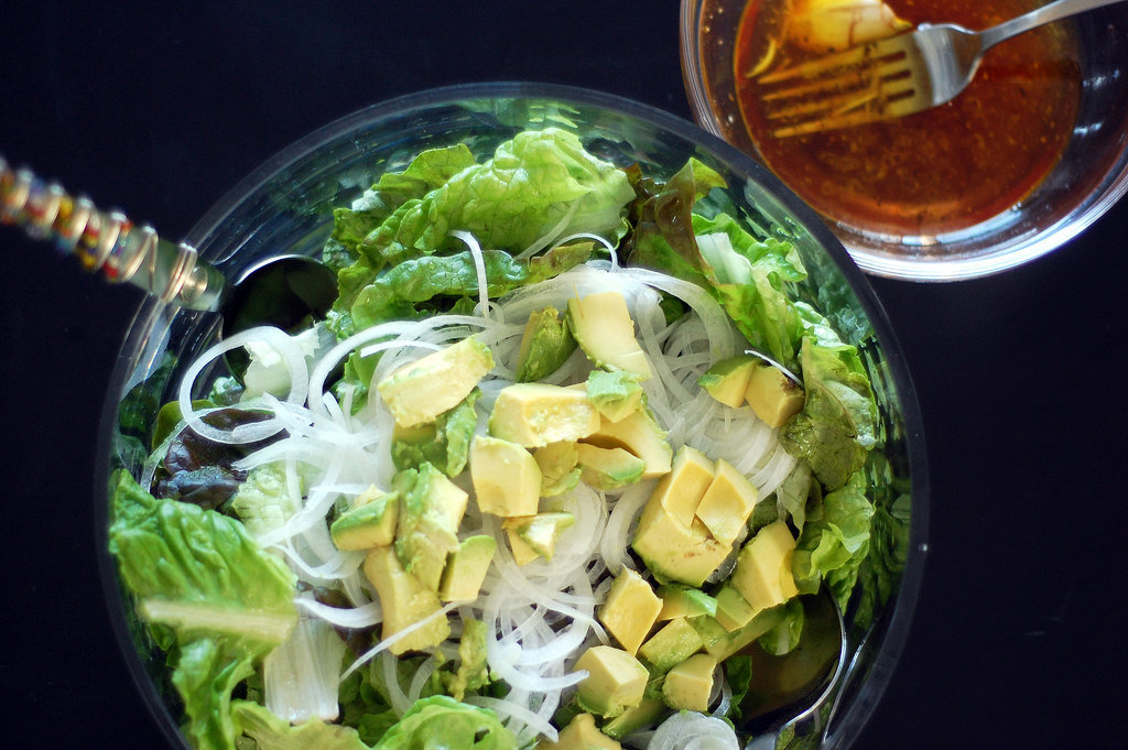 Green Salad With Red Wine Vinegar