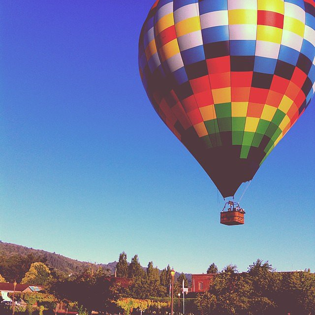 See Fireworks From a Hot Air Balloon Ride