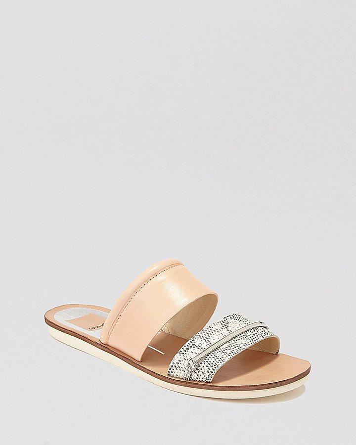 Dolce Vita Flat Slide Sandals