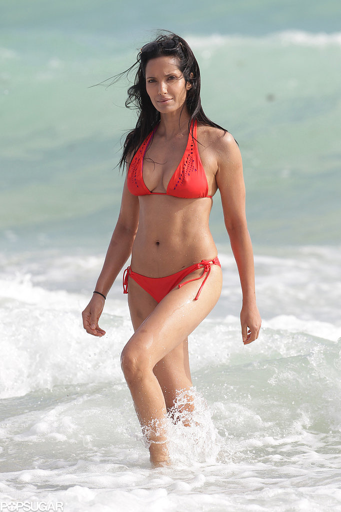 Padma Lakshmi | 65 Sexy Stars in Bikinis! | POPSUGAR Celebrity