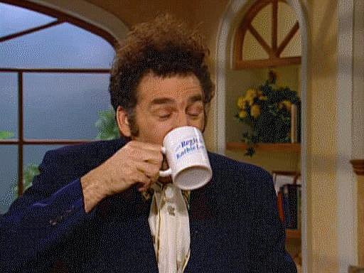When Kramer Does This Epic Spit-Take
