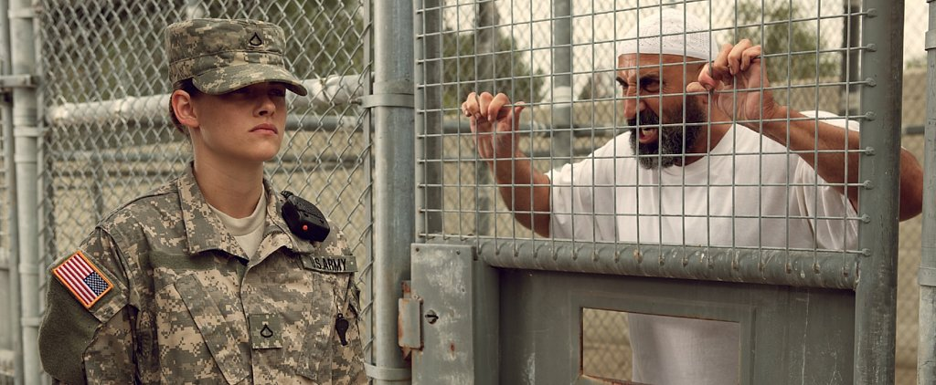 Kristen Stewart Is a Long Way From Forks as a Soldier in Camp X-Ray