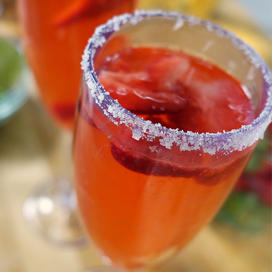Strawberry Sparkling Cocktail | Happiest Hour