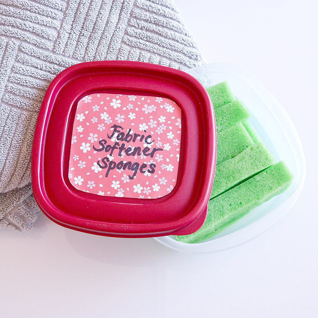 Fabric Softener Sponges