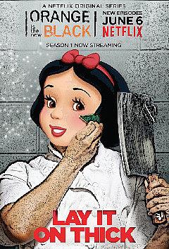 Snow White as Gloria Mendoza