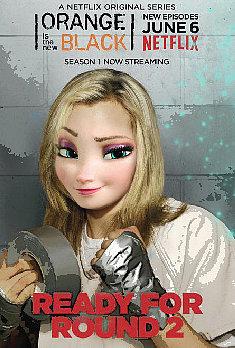 Elsa as Piper