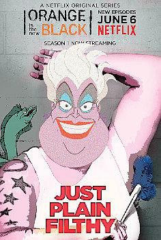 Ursula as Big Boo