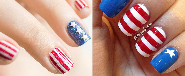 Even More Inspiration For Your July 4 Nail Art