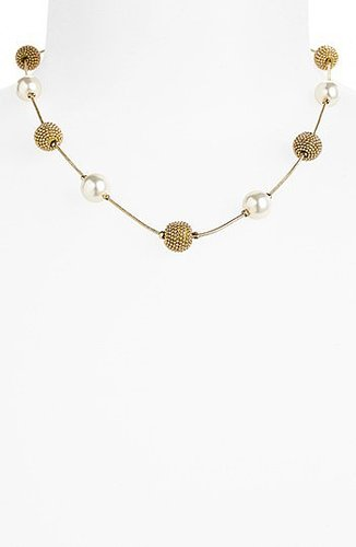 Anne Klein Station Collar Necklace