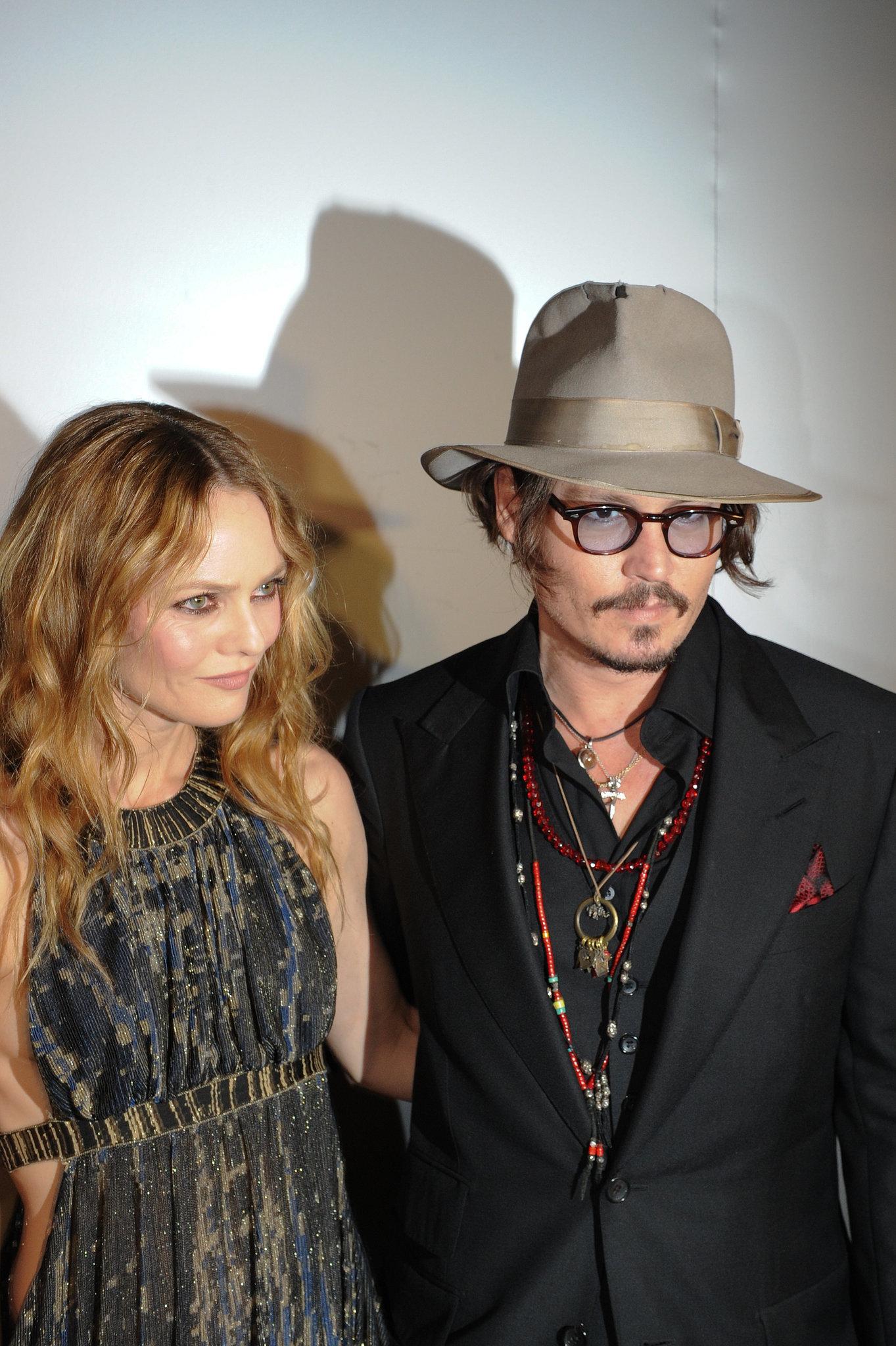 Johnny Depp and Vanessa Paradis