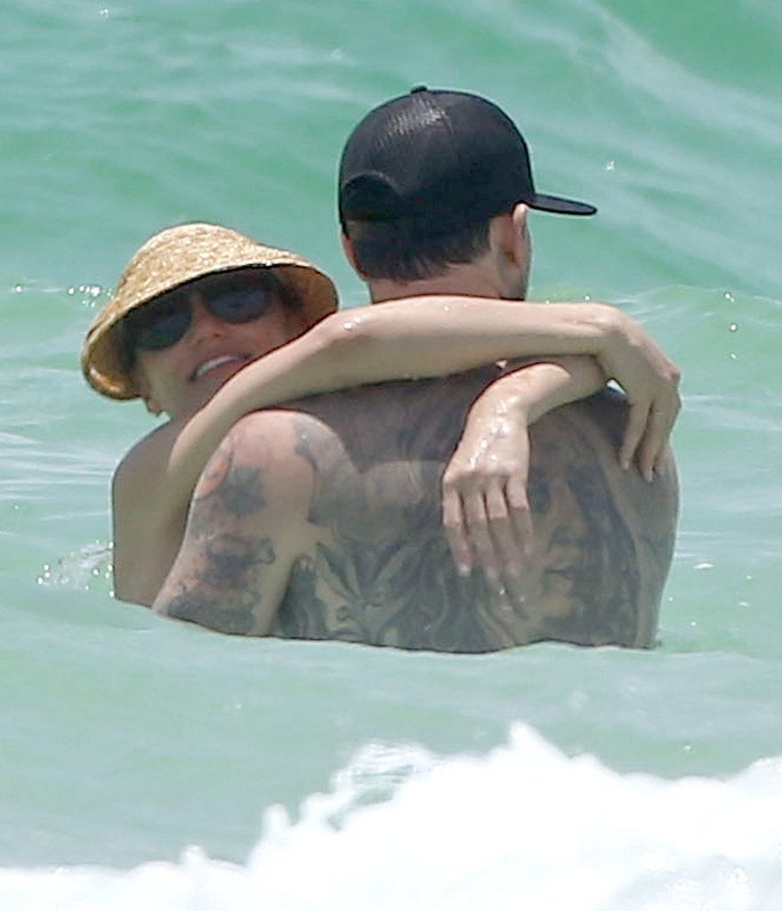 Cameron Diaz Flaunts Her Bikini Body and Hits the Beach With Benji Madden