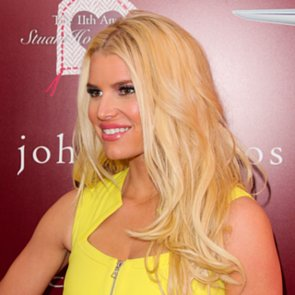 Jessica Simpson's Wedding Hair