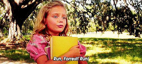 When Jenny Tells Forrest to Run