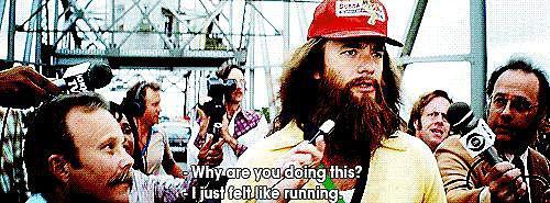 When Forrest Just Keeps Running