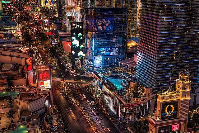 The Vegas Strip — Las Vegas, NV