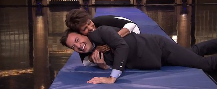 How Did Halle Berry and Jimmy Fallon Not Get Hurt Doing This Stunt?